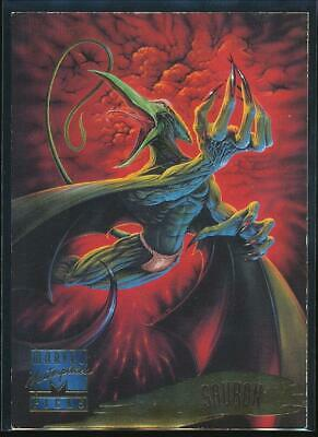 1995 Marvel Masterpieces Trading Card #142 Sauron