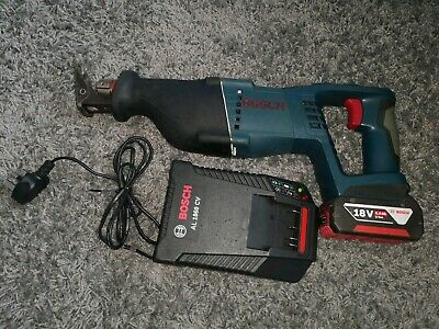 Bosch 18V Reciprocating Saw With 6Ah Battery And Charger