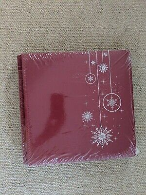 BNIP Creative Memories True 12x12 Xmas Coverset Album, Pages & Protectors Bundle