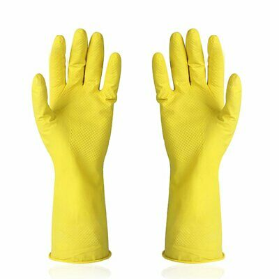 Kitchen Rubber Cleaning Gloves Reusable Household Waterproof Washing Gloves AZ