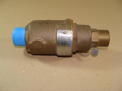 "New Kunkle 1"" Npt Model 20 Pressure Relief Valve, Bronze Body, 70 Psi Setpoint"