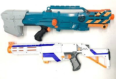 Nerf Gun Lot Of 2 Guns N Strike Retaliator And Zombie Strike No Mags