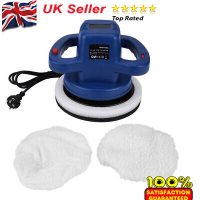 "10"" Car Electric Orbital Motion Car Van Polisher Polishing Buffer Kit 3100 RPM"