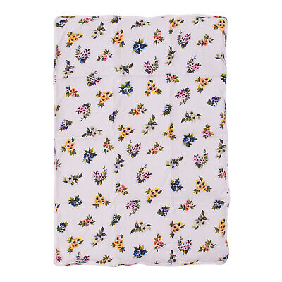DOLCE & GABBANA Baby Down & Feather Duvet White Floral Design Made in Italy