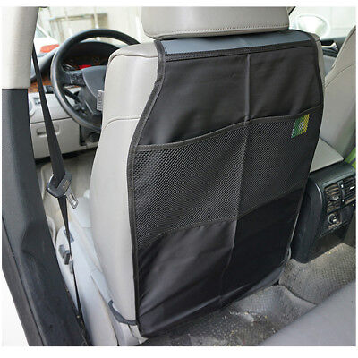 2x Universal Car Seat Back Protector Cover Children Kick Mat Anti Kicking Padded