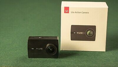 YI Lite Action Camera Sony Sensor 16MP Real 4K Sports Touchscreen + Metal Cage