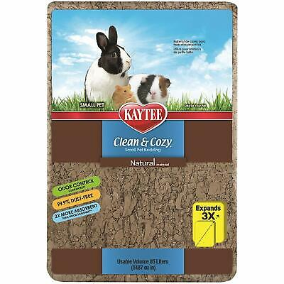Kaytee Clean And Cozy Natural Super Absorbent Paper Small Pet Bedding 85L