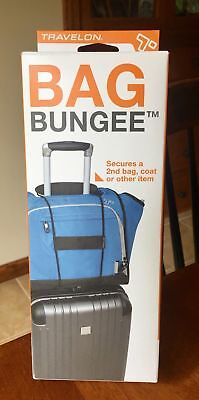 NIB Travelon Bag Bungee Holder Safety Security Travel Luggage