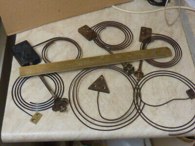 Useful Lot Old-Antique Clock Gongs--French---German Etc -Free Uk Post
