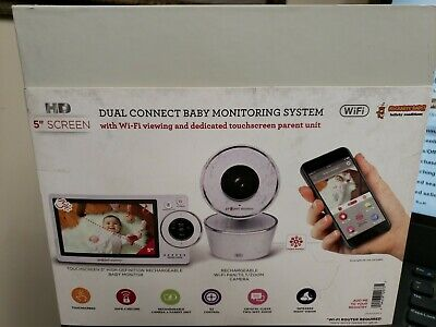 """Project Nursery Dual Connect Baby Monitoring System HD 5"""" screen, open box"""