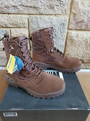 British Army MAGNUM DESERT PATROL BROWN BOOTS Female Brand New IN Box 3M and 3W