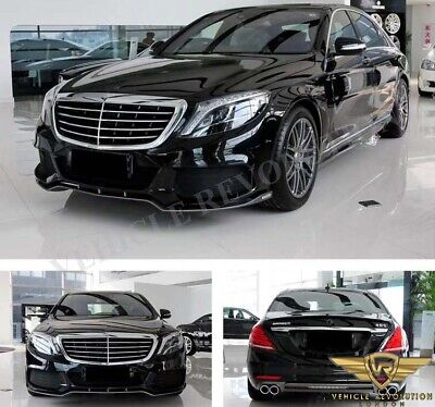Mercedes Benz S Class W222 Brabus Style Black Edition Body Kit Upgrade AMG