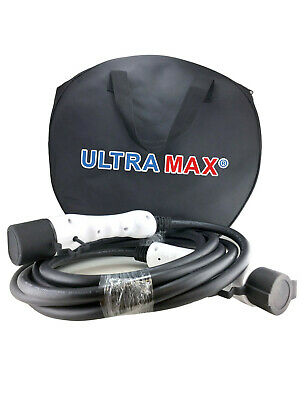 Ultramax EV Cable 32A Type 1 to Type 2 -5 Meter - Electric Car Charging Cable