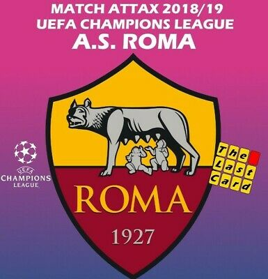 Match Attax Uefa Champions League 2018/19 As Roma Individual Cards A.s.