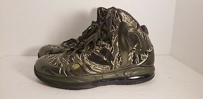 NIKE AIR MAX Hyperposite Tiger Camo Shoes RARE Men s 10 US 524862 ... 1c9c68026