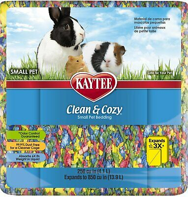 Kaytee Clean Cozy Super Absorbent Paper Bedding Comfort Expands to 12.3 Litre