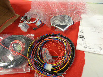 Custom WIRE PLUS 118 Rpl Harley/Custom Builds Motor Mount Wire Harness Assembly