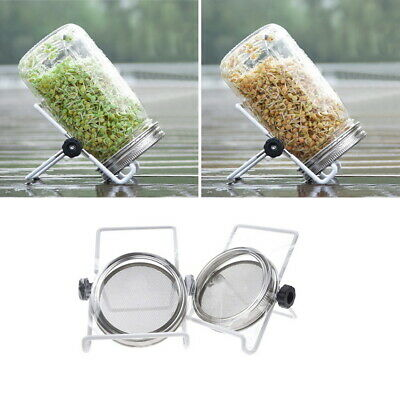 Stainless Steel Sprouting Kit Seed Germination Tools Home Garden Diy Tools GIFT