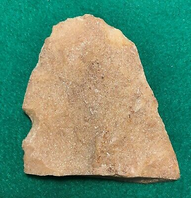 Hixton Knife Scraper Tool F181 Wisconsin  Authentic Native Artifact Arrowhead