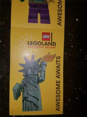 1-6 LEGOLAND & SEA LIFE Aquarium 1 day Park TICKETS admission PASS Exp 2/28/19