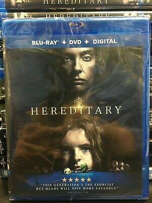 Hereditary (Blu-ray + DVD + Digital) BRAND NEW