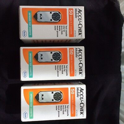 accu chek mobile cassette 50 tests in one cassettes