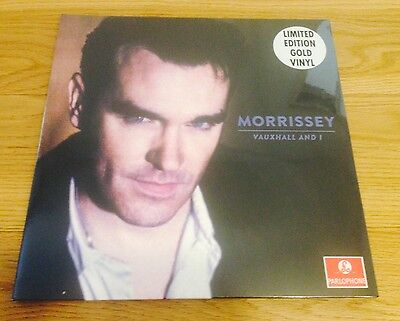 MORRISSEY Vauxhall And I RARE SEALED Limited HMV GOLD Vinyl 500 only THE SMITHS