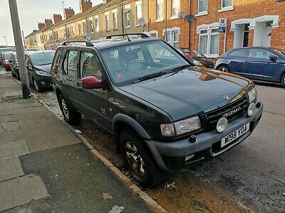 frontera 3.2 v6 - Engine problems - Spares or Repairs
