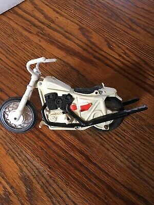 FREE SHIPPING Vintage 1972 Ideal Evel Knievel Stunt Cycle Motorcycle Black Seat