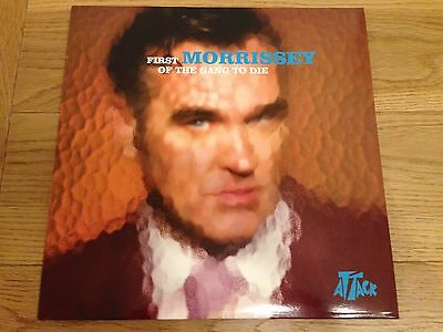 MORRISSEY First Of The Gang To Die LIMITED NEVER PLAYED UK 12'' MINT THE SMITHS