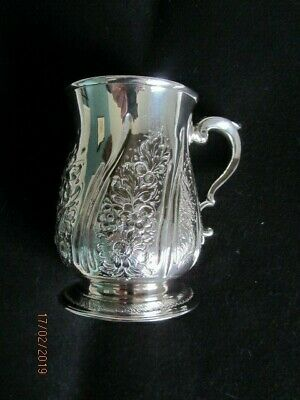 Stunning George II soild silver Tankard London 1757 Richard Gurney