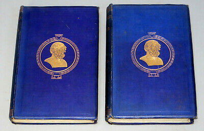 THE ILIAD OF HOMER translated by EARL OF DERBY (1965) 2 Vols Complete Trojan War