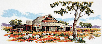 The Woolshed - Cross Stitch Chart by Country Threads