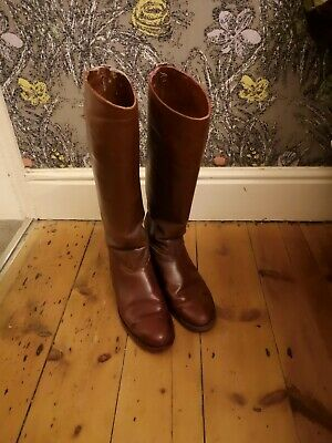 Mens Vintage Cavalry Boots 1940s size 10.