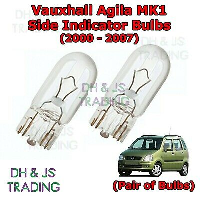 2x Vauxhall Astravan MK5//H Genuine Osram Original Side Light Parking Lamp Bulbs