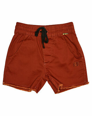 New Munster Kids Boys Tots Boys Keramas Walkshort Cotton Elastane Red