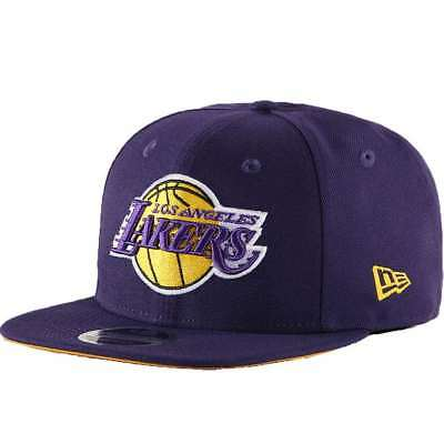 fadd3d1b1ba Casquette New Era 9Fifty Nba Los Angeles Lakers Sn Primary Violet Homme