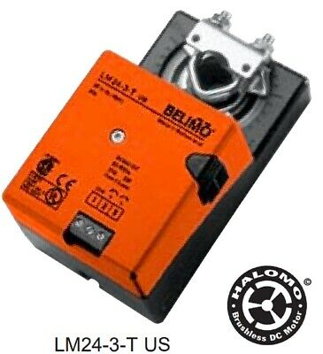 Belimo LM24-3-T.1 US Actuator, On-Off/ Floating Point Control, Non-Spring Return