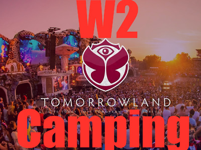 1-4x Tomorrowland W2 Magnificent Greens (Camping) with Full Madness Pass Tickets
