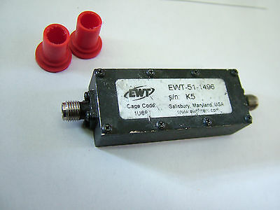 RF filter bandpass CF: 170MHz BW: 35MHz EWT-51-1496 /B Patentix Ltd