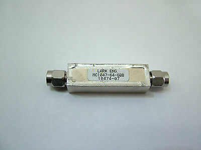 RF bandpass filter CF: 16.8GHz BW: 1.2GHz LARK MC1047-64-6BB Patentix Ltd