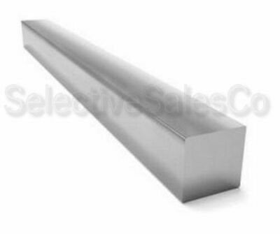 "Square Stock 304 Stainless Steel 1/4"" x 1/4"" x 72""  Solid Square  6ft. Long Bar"