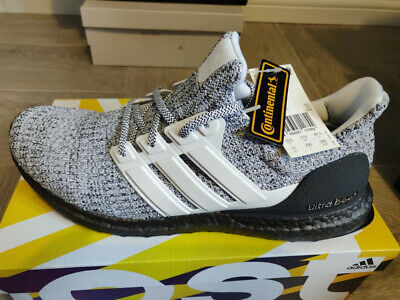 857fc0f6d40 adidas UltraBOOST BB6180 Cookies Cream Oreo Ultra Boost 4.0 Black Carbon  Silver