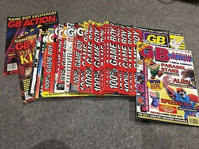 GB action * Gameboy * GAMES MAGAZINE * Issues