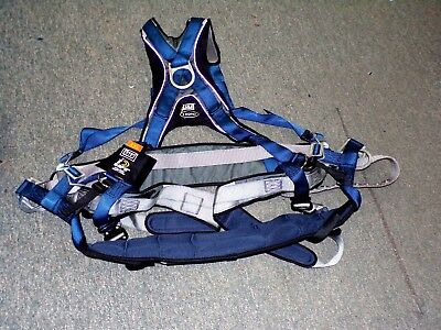 DBI SALA EXO-FIT  Safety Harness XXL - With Seat -1108658- Free Shipping