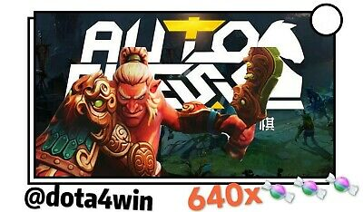 Global Dota 2 Auto Chess 🔑640 Candy Code CDKEY Courier