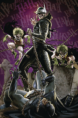 THE BATMAN WHO LAUGHS # 4 VARIANT COVER Comic 2019 NM Brand New PRE-ORDER 4/10