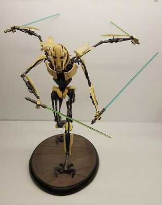 Sideshow star wars general grievous premium format figure used/damage ROTS look.