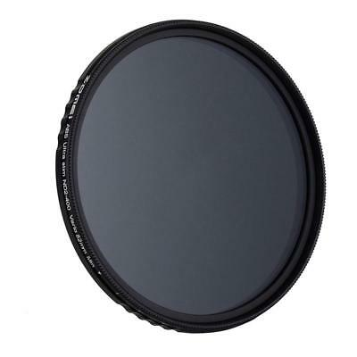 ZOMEi 82mm Fader ND Neutral Density Adjustable Variable Filter (ND2 to ND40 X2E3
