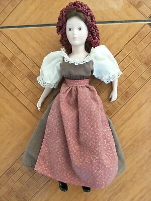 "Porcelaine Doll -  Authentic 1988 Bicentenial ""the First Fleet Series"""